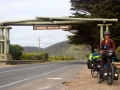 The end of the Great Ocean Road