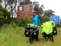 The beginning of the Great Ocean Road