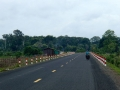 The long, flat road