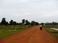 Back road into Siem Reap