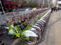Boris bikes in Lanzhou