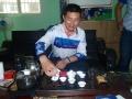 Tea making ceremony