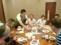 Dinner with the cycling club