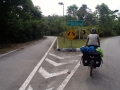 Cycle lane into KL