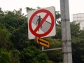 No jay walking… this surely is not Asia?!