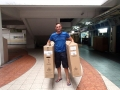 Bike boxes for the long trip to Perth