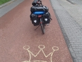 German cycle path