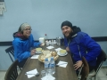 Thawing out with soup in Devrek