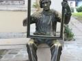 Tsanko Lavrenov statue