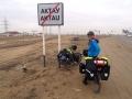 Leaving Aktau