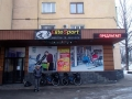 The bike shop that helped us out in Almaty