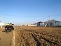 Arriving in the last town in Kazakhstan