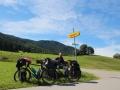 Cycling into Salzburg