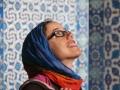 Katie in Rüstem Paşa mosque