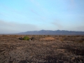 Wild camping in the desert