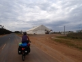 Heading into our donga