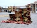 Bukhara carpet market