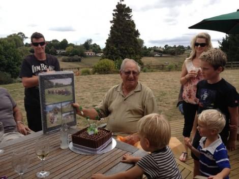 Grandad 80th