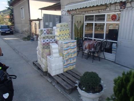 Toilet paper town