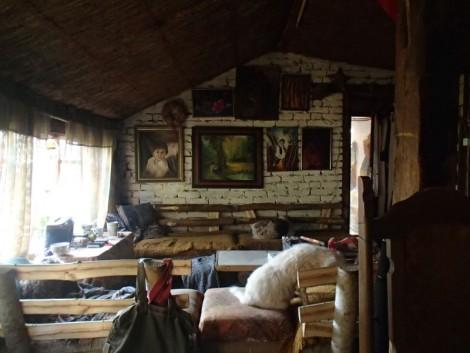 Snežana and Sava's lounge