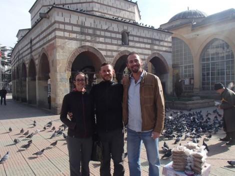 Behiç showing us around Kastamonu's impressive old town