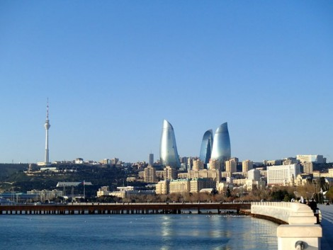 Baku waterfront