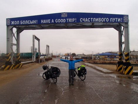 Arriving in Kazakhstan
