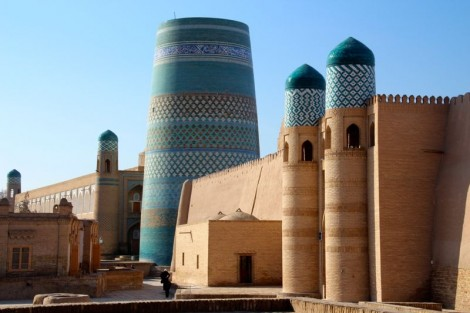Khiva old town.