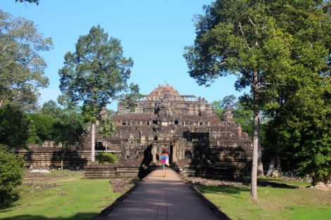 We basically had Angkor Thom to ourselves as well!