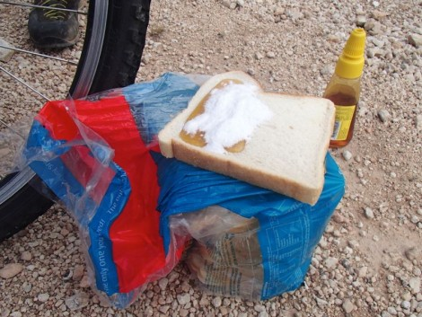 Honey and Glucodine sandwiches… don't try this at home!
