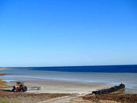 The beach at Haslam