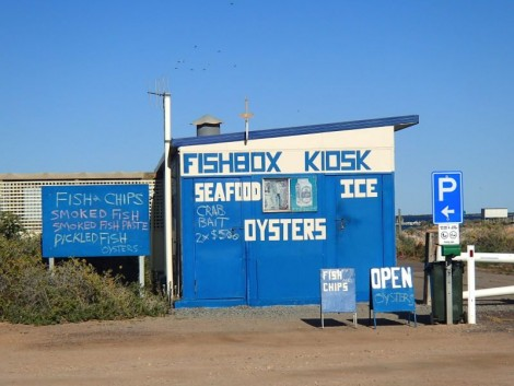 The location of possibly the finest fish & chips in Australia.
