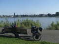 Chilling by the Rhine