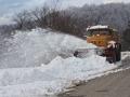 Snow plough, Kutaisi to Khashuri