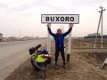Arriving in Bukhara